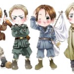 Amazon Lists Hetalia Axis Powers Manga From Tokyopop