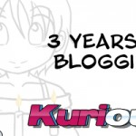 Kuriousity – 3 Years and Blogging