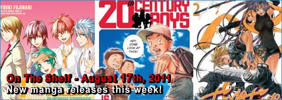 Otaku USA: On The Shelf - August 17