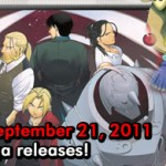 Otaku USA: On The Shelf – September 21, 2011