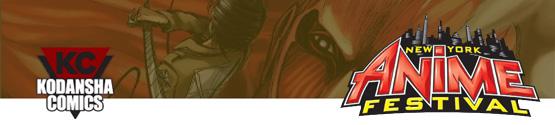 NYAF 2011: Kodansha Comics