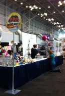 Artist Alley - so bright and spacey!