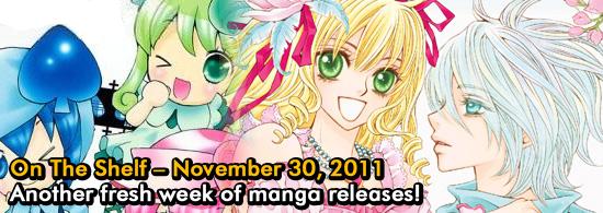 Otaku USA: On The Shelf - November 30, 2011