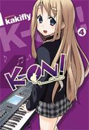 K-ON! (Vol. 04)