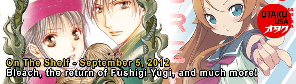 Otaku USA: On The Shelf - September 5, 2012
