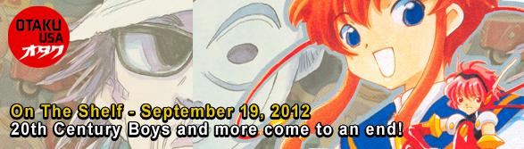 Otaku USA: On The Shelf - September 19, 2012