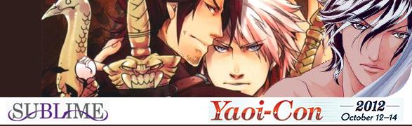 YaoiCon 2012: SuBLime Manga