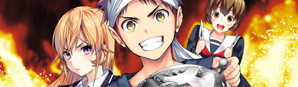 Viz Media Revisits Culinary Battle with License of Food Wars Manga