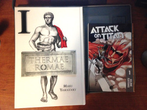 Thermae Romae - Attack on Titan
